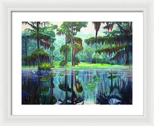 Load image into Gallery viewer, Cato Lake - Framed Print