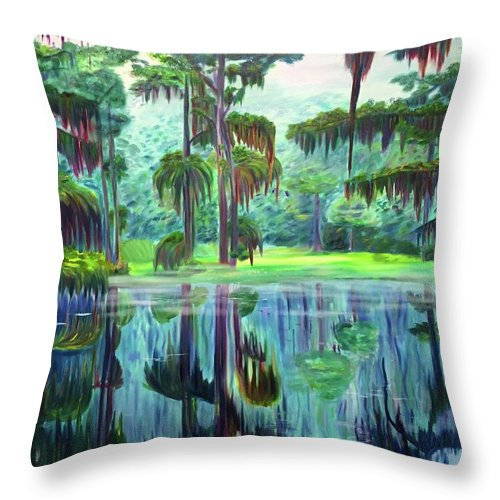 Cato Lake - Throw Pillow