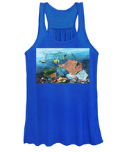 Load image into Gallery viewer, Caught in coral - Women's Tank Top
