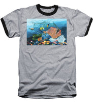 Load image into Gallery viewer, Caught in coral - Baseball T-Shirt