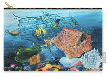 Load image into Gallery viewer, Caught in coral - Carry-All Pouch