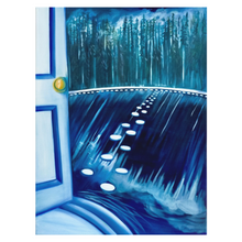 Load image into Gallery viewer, Secret door, secret paradise, oil painting
