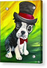 Load image into Gallery viewer, Dapper Dog - Acrylic Print