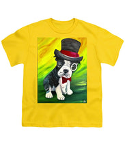 Load image into Gallery viewer, Dapper Dog - Youth T-Shirt