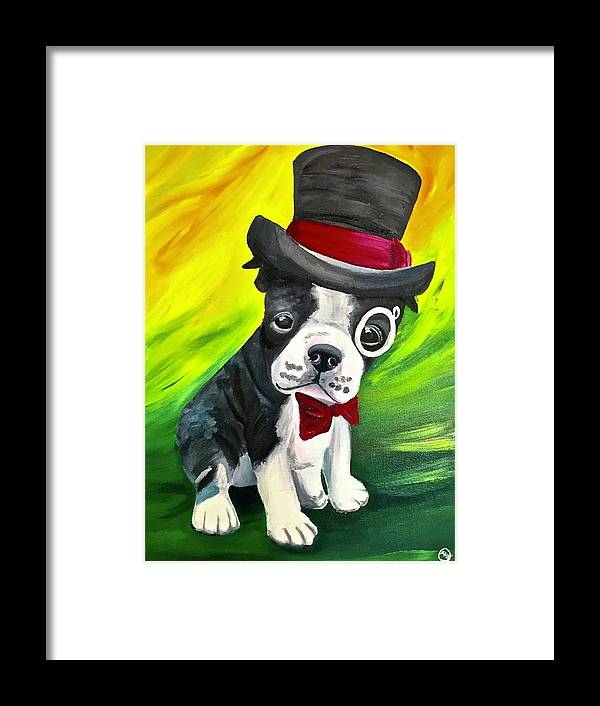 Dapper Dog - Framed Print