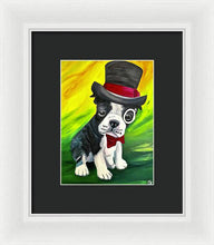 Load image into Gallery viewer, Dapper Dog - Framed Print