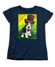 Load image into Gallery viewer, Dapper Dog - Women's T-Shirt (Standard Fit)