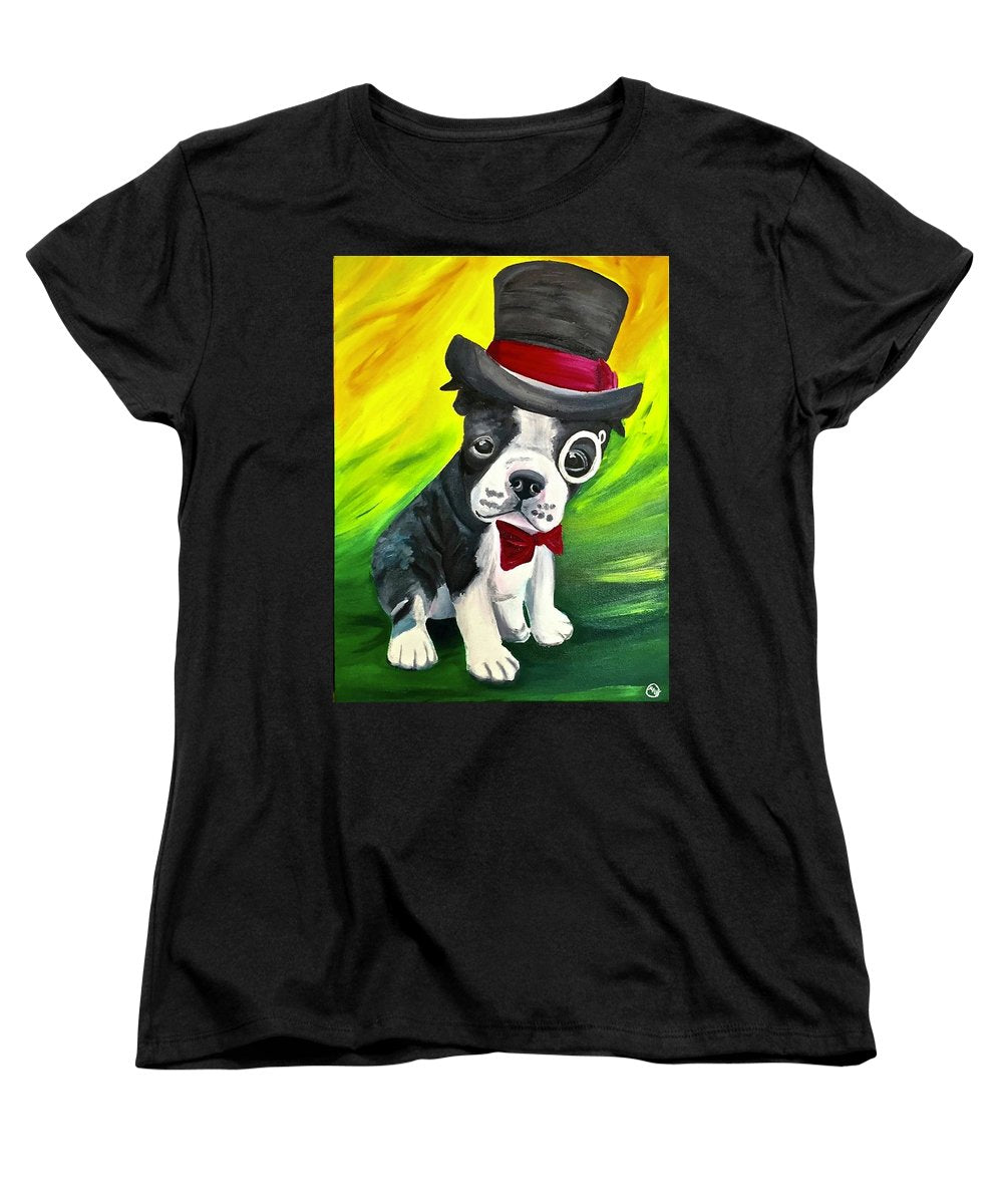Dapper Dog - Women's T-Shirt (Standard Fit)