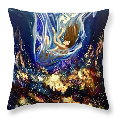 Falling Slowly  - Throw Pillow