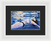 Load image into Gallery viewer, Floating Away  - Framed Print