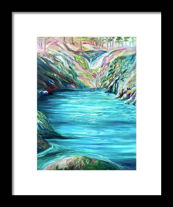 Hidden Paradise - Framed Print