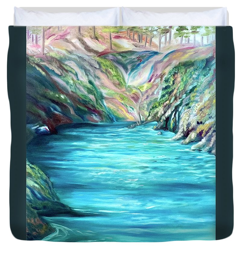 Hidden Paradise - Duvet Cover