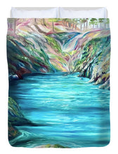 Load image into Gallery viewer, Hidden Paradise - Duvet Cover