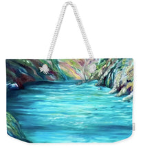 Load image into Gallery viewer, Hidden Paradise - Weekender Tote Bag