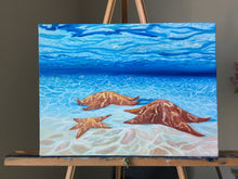 Load image into Gallery viewer, Starfish painting art print, sea star painting art print, starfish art, art prints for sale. sea critters, sea star print, ocean art print