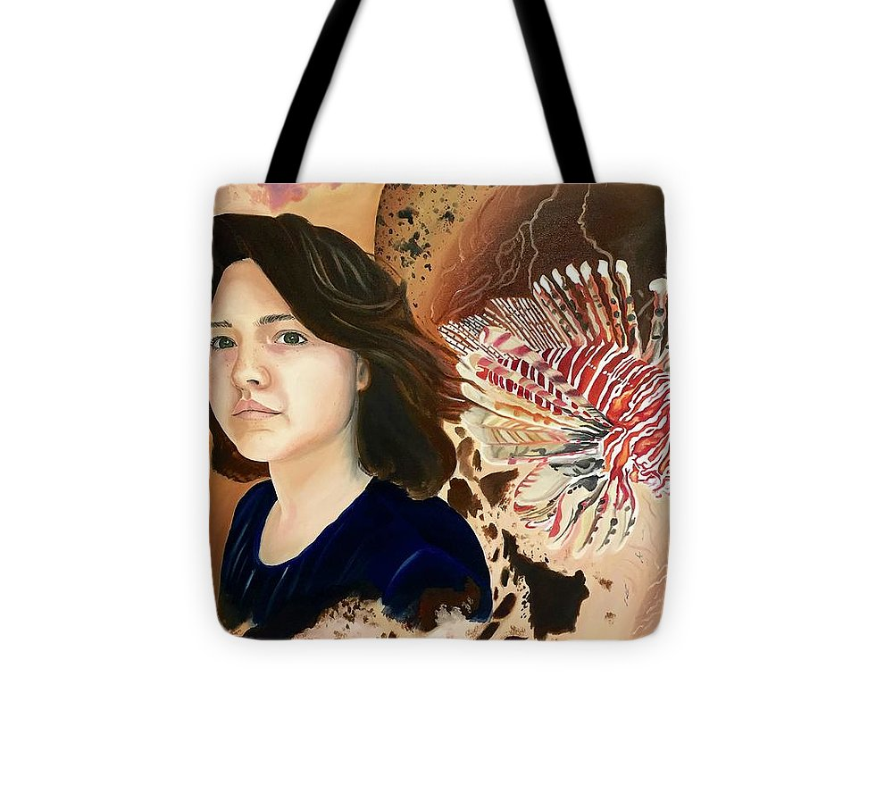 Lionfish scars - Tote Bag