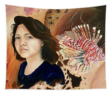Load image into Gallery viewer, Lionfish scars - Tapestry