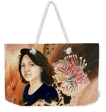 Load image into Gallery viewer, Lionfish scars - Weekender Tote Bag