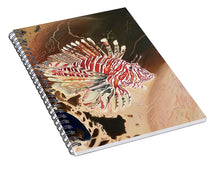 Load image into Gallery viewer, Lionfish scars - Spiral Notebook