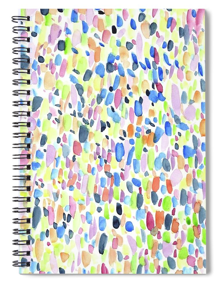 Multi Dots - Spiral Notebook