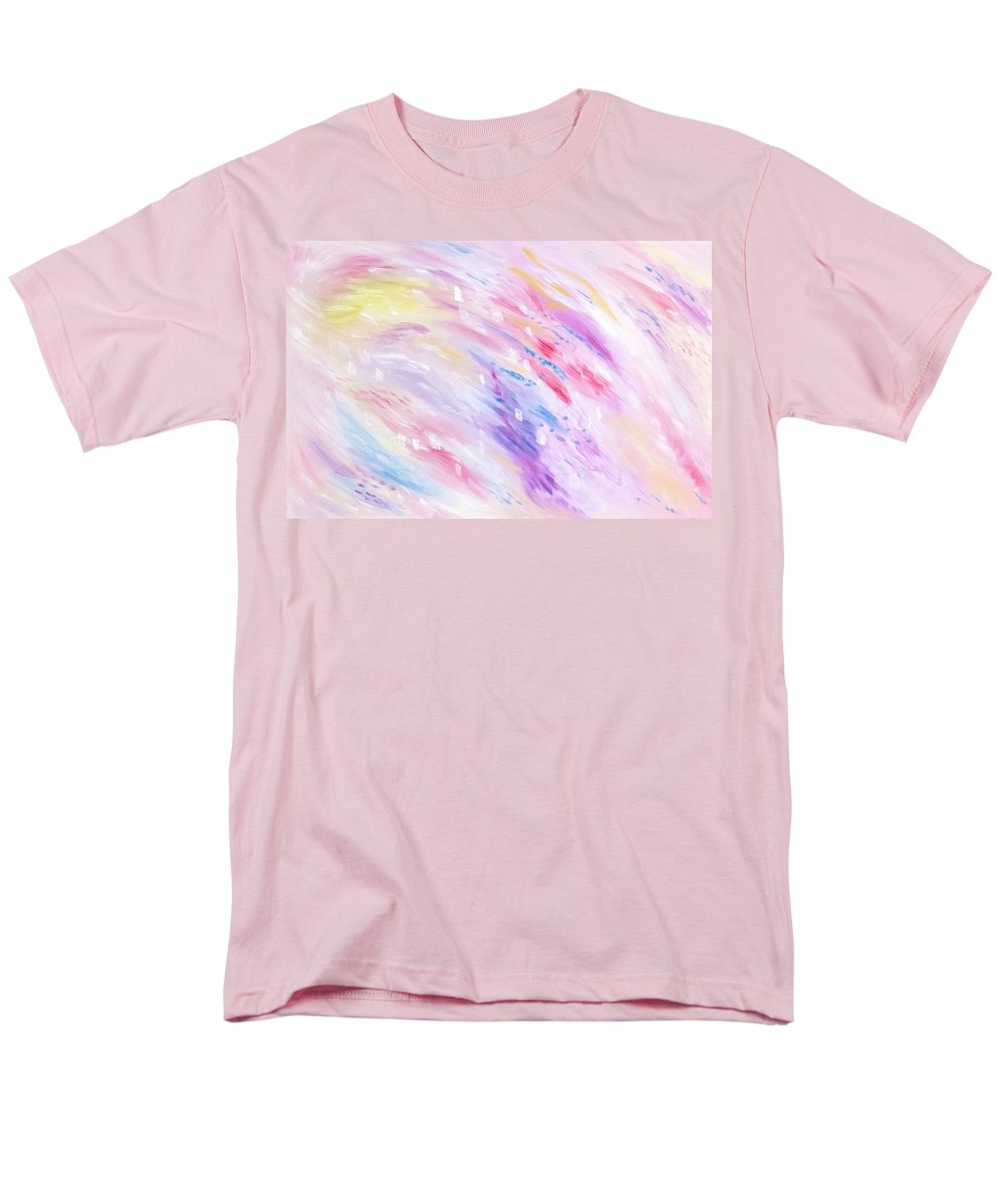 Pink Abstract Passion - Men's T-Shirt  (Regular Fit)