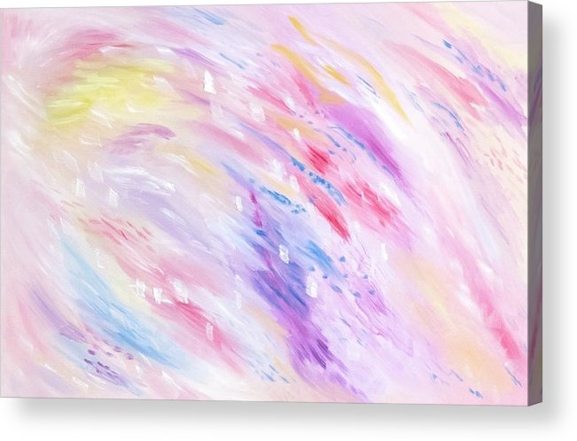 Pink Abstract Passion - Acrylic Print