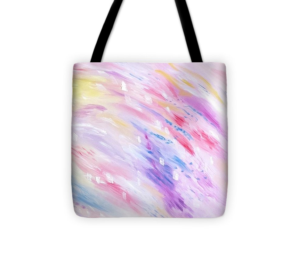Pink Abstract Passion - Tote Bag