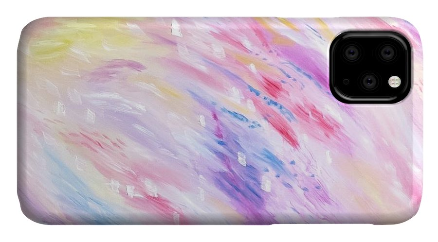 Pink Abstract Passion - Phone Case