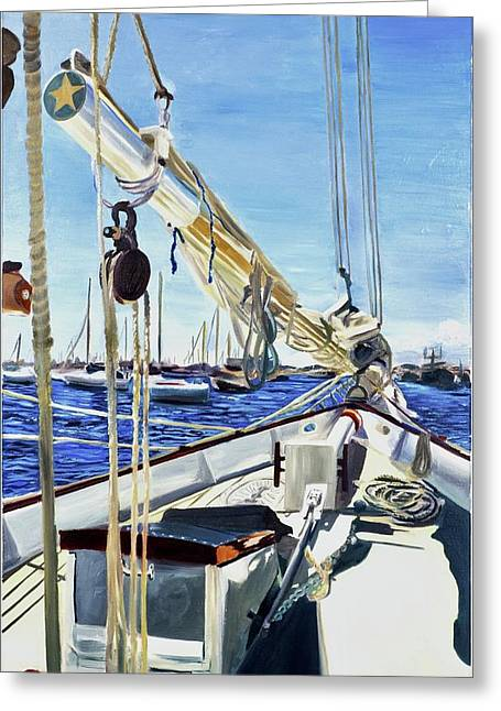 Sailing Away  - Greeting Card