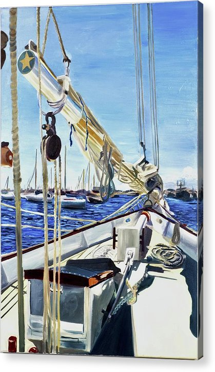 Sailing Away  - Acrylic Print