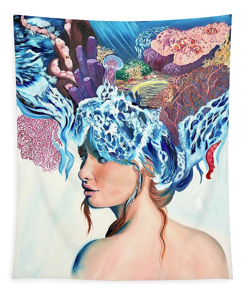 The queen of the sea - Tapestry