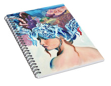Load image into Gallery viewer, The queen of the sea - Spiral Notebook