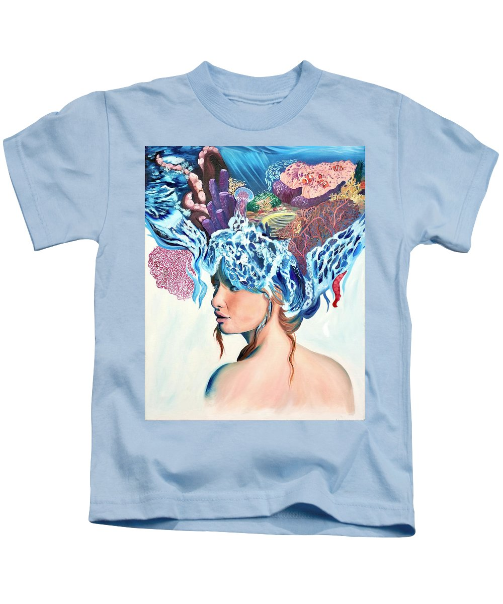 The queen of the sea - Kids T-Shirt