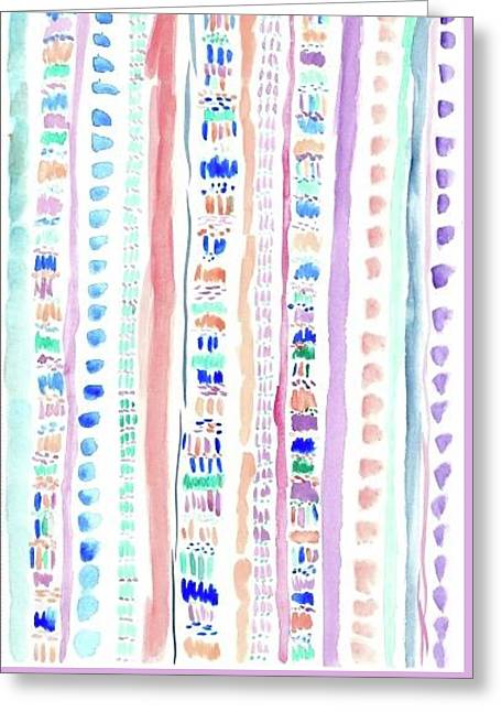 Tribal Style Pattern - Greeting Card