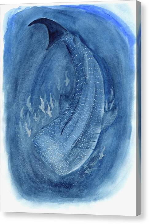 Whale Shark - Canvas Print