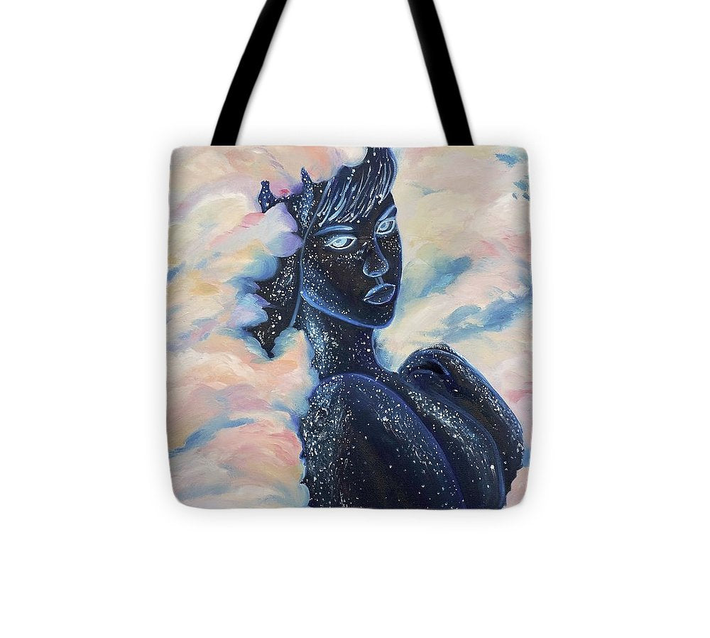 Woman In The Clouds - Tote Bag