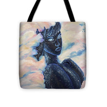 Load image into Gallery viewer, Woman In The Clouds - Tote Bag