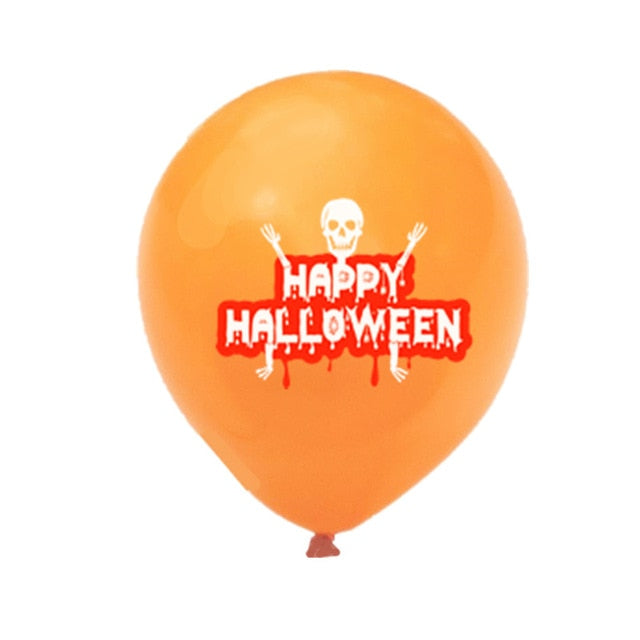 10pcs Scary Halloween Balloons