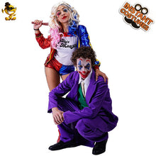 Load image into Gallery viewer, Couple/Single Clown Halloween Costumes