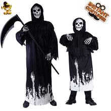 Load image into Gallery viewer, Skeleton Reaper Costume