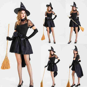 Witch Gothic Halloween Custome