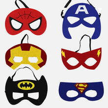 Load image into Gallery viewer, Super Hero Eye Mask