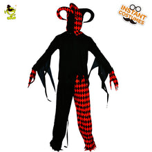 Load image into Gallery viewer, Evil Jester Clown Costume