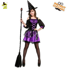 Load image into Gallery viewer, Ghost Witch Halloween Costume