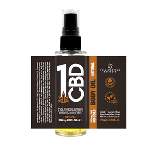 Load image into Gallery viewer, 1CBD 300mg Body Oil Spray