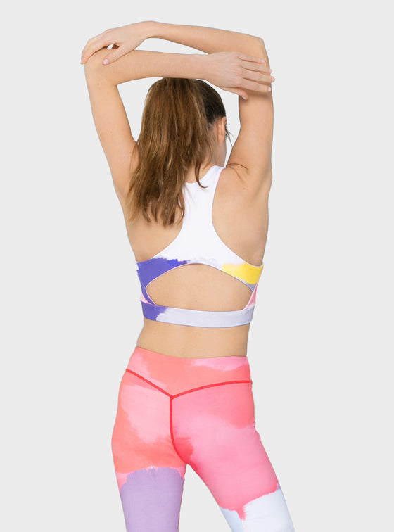Ella Sports Bra Blush