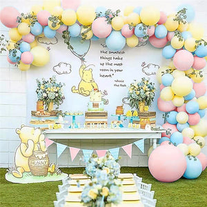 Gender Reveal Classic Pooh Balloon Garland Kit