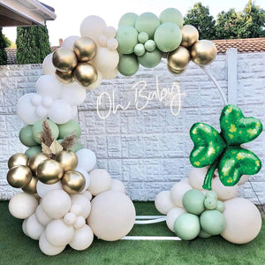 Giant Green Shamrock St. Patrick's Day Balloon (33-Inches)