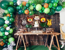 Animal Stripe Jungle Balloon Garland Kit