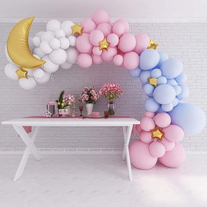 Pastel Gender Reveal Balloon Garland Kit